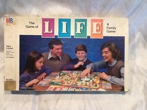 Collectible-Vintage-1985-The-Game-of-Life-Board-Game-Milton-Bradley