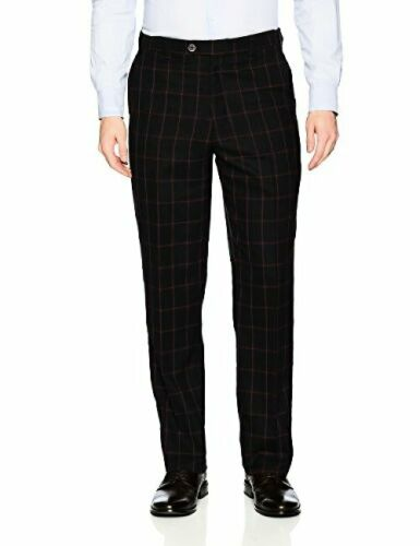 Stacy Adams Tailored STACY ADAMS Mens Sam Double Breasted Suit Window Pane