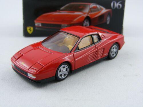 Ferrari Testarossa in rot 1//61 Takara Tomy Tomica Premium #06