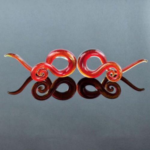 1PAAR spirale Expander Schnecke Sichel Ohr Spirale Plug tunnel Piercing 5-12mm
