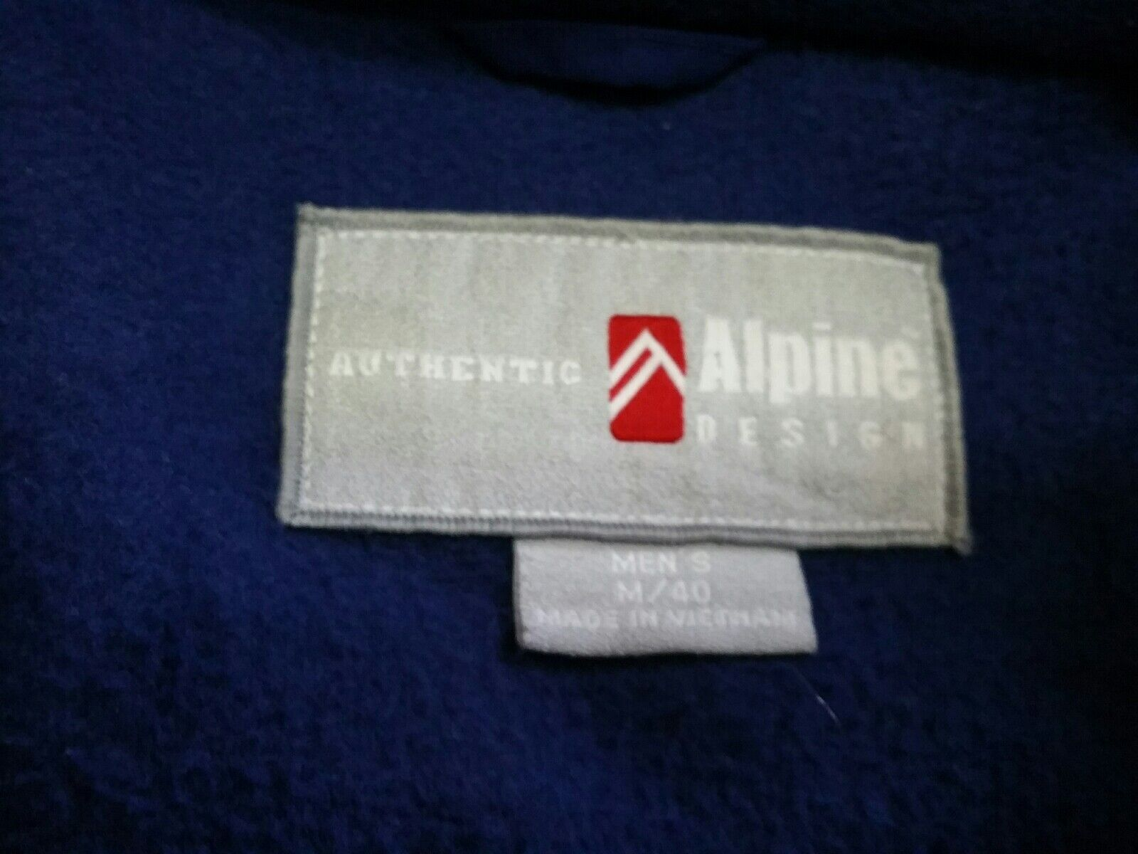 AUTHENTIC SIZE: ALPINE DESIGN SKING OUTERWEAR WINTER COAT SIZE: AUTHENTIC Herren M/40 25d399