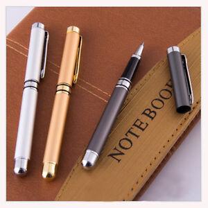 0.5mm Gel Pen Metal Business Office Rollerball Pen Roller Ball Ballpoint Pens