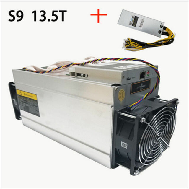 Antminer S9 13.5t Bitcoin Miner ASIC BTC Bitmain Mining ...