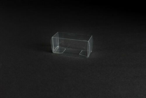 Herpa cars 1:87-2.56x0.98x1.10 Inch Transparent packaging folding box for e.g