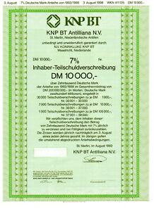 2019 Mode Knp Bt Antililana N.v. - Teilschuld 10.000 Dm - St. Martin 1993 Waren Des TäGlichen Bedarfs