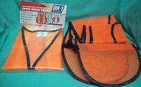 Orange Safety Vests X2