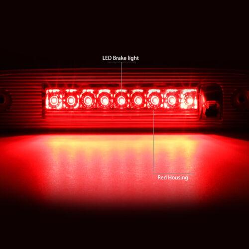 FOR 07-12 DODGE NITRO FULL LED 3RD THIRD TAIL BRAKE LIGHT STOP LAMP BAR RED LENS