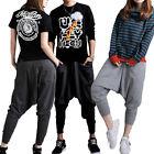 New Women Men Casual Baggy Hip-hop Harem Trousers Dance Pants Couple Sweatpants