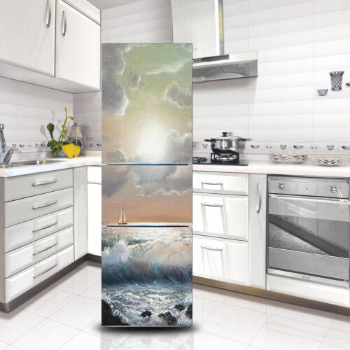 3D Wall Art Sticker Vinyl Decal Self Adhesive Door Fridge Mural Vinyl Home Decor