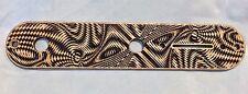 CUSTOM Walla Walla Guitar Company Telecaster CONTROL PLATE Maple Wood Engraved