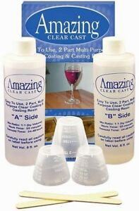 Details about New! Alumilit Amazing Clear Cast Clear Coating & Casting  Resin Kit 16oz