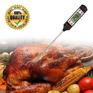 Consciencieux Digital Lecture Instantané Alimentaire Thermomètre à Viande Pour Cuisine Cuisson Barbecue Grill Smoker-afficher Le Titre D'origine
