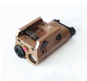 Tan Blackcat Airsoft HX15 Tactical Flashlight