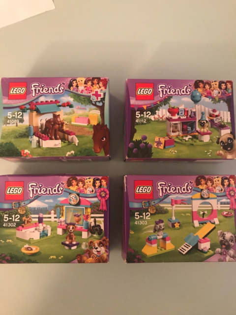 Lego Friends, 41089 + 41112 + 41302 + 41303, 41089 Lille…
