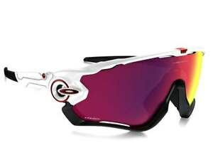 359bc2b07f1 Image is loading NEW-OAKLEY-Jawbreaker-Sunglasses-Polished-White-w-Prizm-