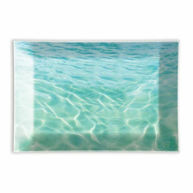 Michel Design Works Glass Trinket / Soap Dish Beach - NEW