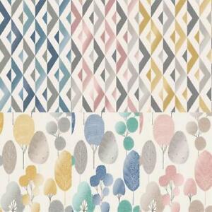 Fine Decor Scandi Geo/Forrest Metallic Finish 10m Wallpaper