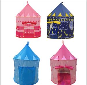 ... Children-Portable-Pop-Up-Play-Tent-Kids-Princess-  sc 1 st  eBay & Children Portable Pop Up Play Tent Kids Princess prince Castle ...
