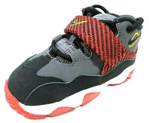 Nike-Turf-TD-643231-003-002-Toddlers-Shoes-DRK-Black-Cool-Grey-Sneakers-Leather