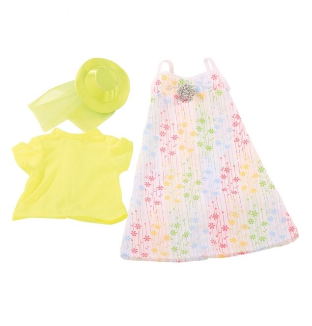 Gotz Summer Dress and Hat for dolls 45 to 50 cm