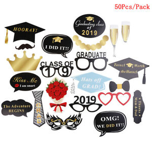 Party Supplies DIY Class of 2019 Paper Props Photo Booth Picture Frame