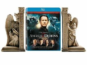 Details about Angels & Demons Limited Edition Blu-Ray Collector's Gift Set  w/BOOKENDS! - NEW