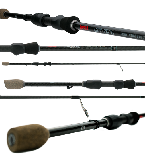 Rapala Maxwell 7' 2pc 2-4 kg 30 Ton Spin Graphite Blank Spin Ton Fishing Rod MXS702L 563a9a