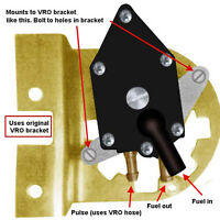 Evinrude Johnson Fuel Pump Replacement Kit 3 Cyl 60 70 All Vro Equipped Models
