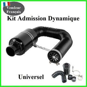 Kit-D-039-admission-Direct-Dynamique-Carbon-Universel-Boite-Tuning-Filtre-a-Air-Bmw