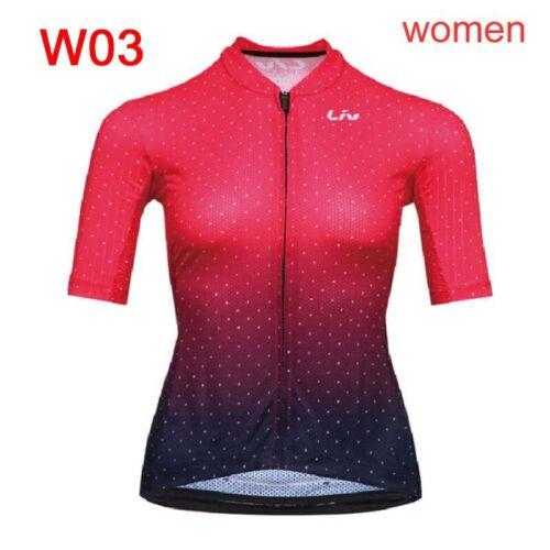 New 2020 women cycling jersey bike short sleeve shirt bicycle tops sportswear A8