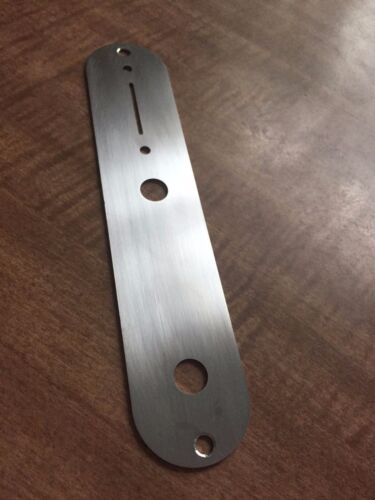 Fender Telecaster Control Plate Brushed Stainless Steel Fits USA//Mexican Tele