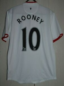 Manchester United 2012/2013/2014 Away Football Shirt Nike Rooney #10 Taglia M