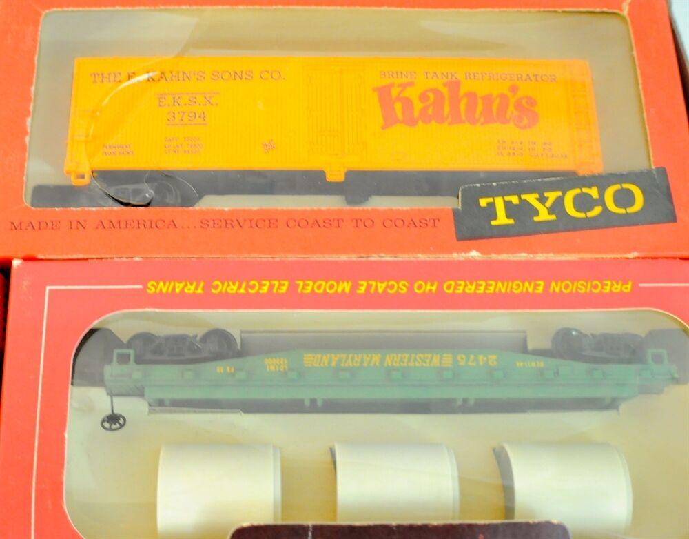 Vintage Tyco HO Scale Electric Trains Precision Precision Precision Engineerosso eabc51