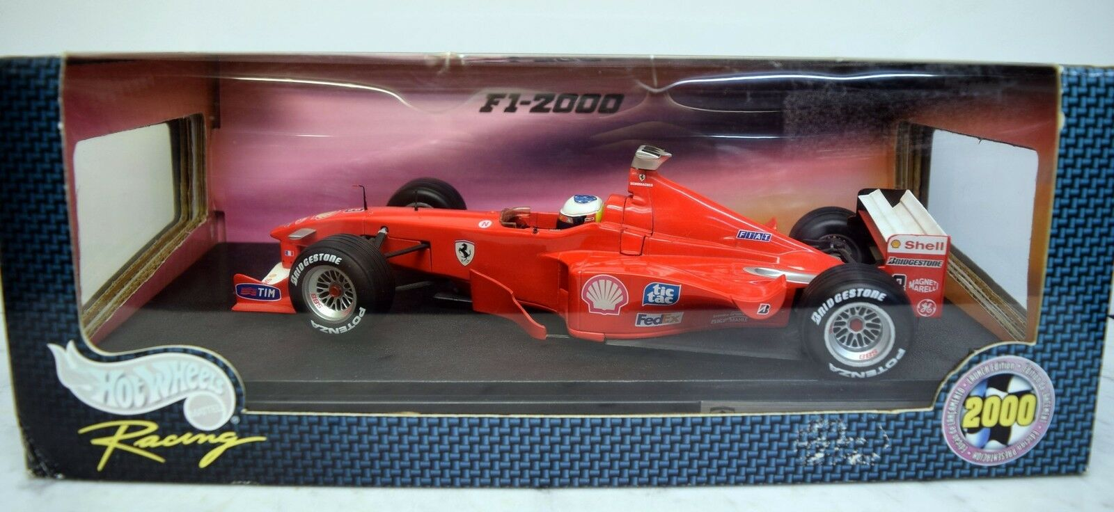 Hot Wheels 1 18 18 18 26697 ferrari f1 2000, m. schumacher a1b12c