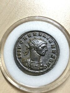 Ancient-Roman-Empire-Coin-AURELIAN-Sol-Holding-Globe-Captive-At-His-Foot