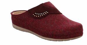 Rohde Rodigo Damen Pantoffeln Pantolette Cloqs Hausschuhe 6038 Bordeaux
