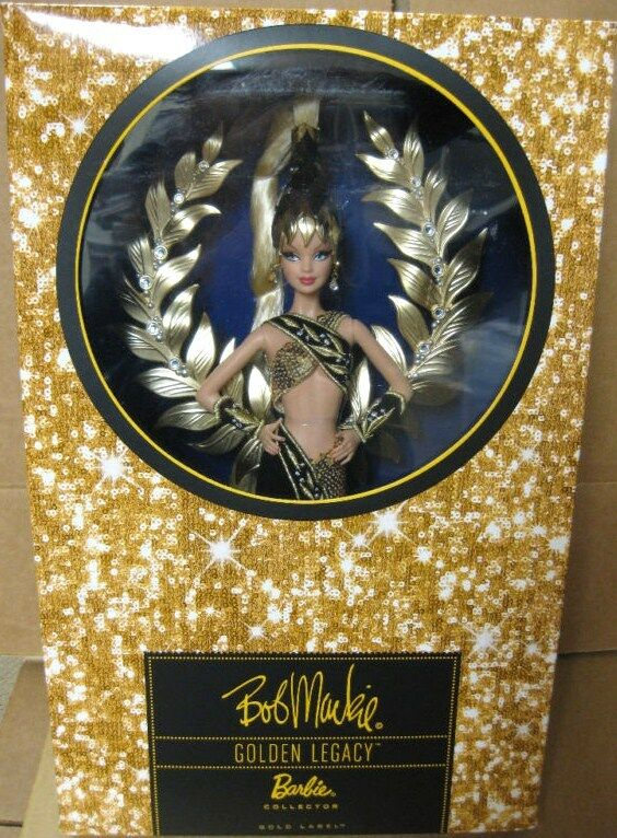Barbie 2009 Bob Mackie oroen Legacy oro viene n6610 NRFB NRFB NRFB  liquidación hasta el 70%