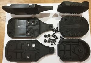 HEAD SKI BOOT REPLACEMENT SOLES TOES HEELS ADAPT EDGE NEXT CHALLENGER BLACK 7505