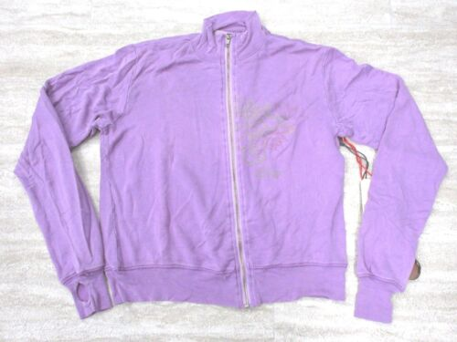 Da-Nang Surplus Women/'s Sweater Zip-Up Embroidered PLUM SFG189926 X-SMALL XS