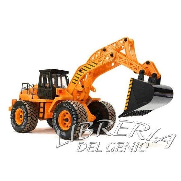 Escavatore Ruspa Radiocomandato Borsager brudder r/c telecomandato 3 CH Natale