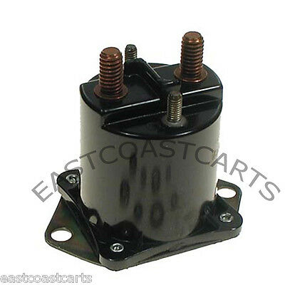 12V No Hardware Included Fits Club Car: Ds and Carryall 4 Terminals Stens 435-154 Starter Solenoid Replaces Club Car: 1013609
