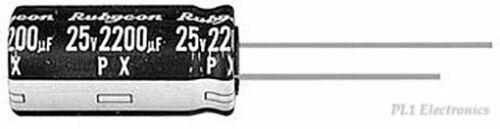 RUBYCON   200PX3R3MEFCT16.3X11   CAP, ALU ELEC, 3.3UF, 200V, RAD Price for 5