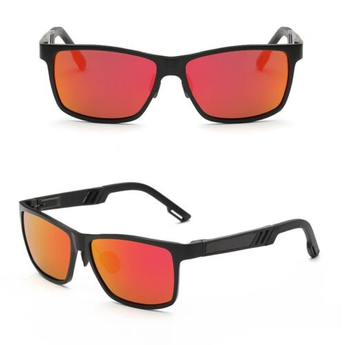 HD Aluminum Men Polarized Driving Sunglasses Sports Mirrored Sun Glasses Eyewear