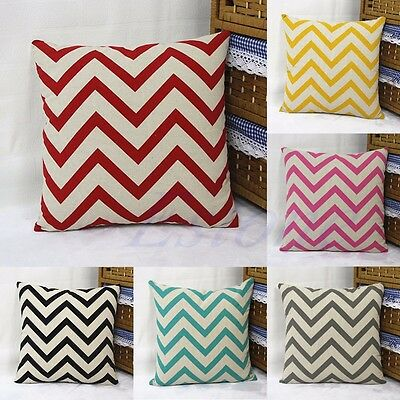 Fashion Vintage Cotton Cushion Cover Pillow Case Sofa Throw European Home Decor