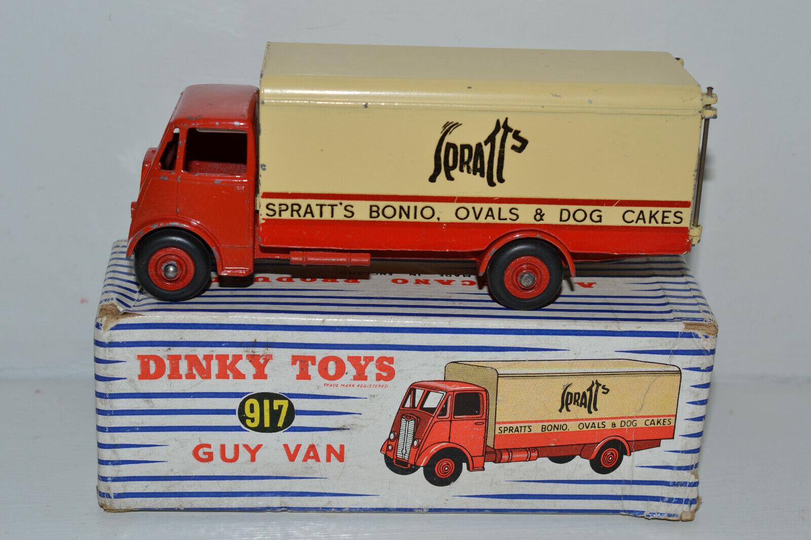 ventas de salida Meccano Dinky Dinky Dinky Juguetes-Guy van 'Spratt's' No.917  tiempo libre