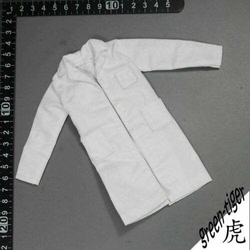 1:6 1//6 Scale ace female Action figure parts White doctor Lab coat free shipping