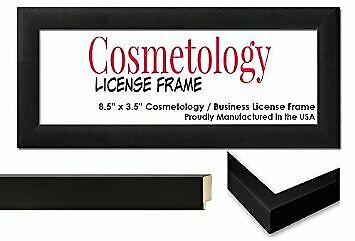 business license certificate wood frame made to hold certificates measuring 8 ebay ebay