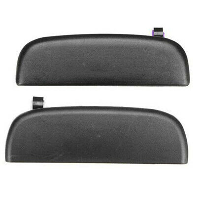 04-14 Suzuki Carry APV Pair Black outer door handle truck outside exterior