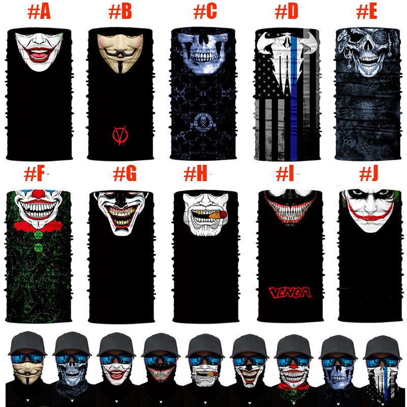 PredECTION Tactical Skull Venom FACE SHIELDS MULTI-USE Sun  Mask Balaclava  the most fashionable