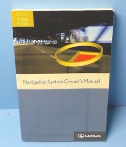 06 2006 lexus is 350 is 250 navigation system owners manual ebay rh ebay com 2006 lexus is 350 repair manual 2006 lexus is 350 service manual